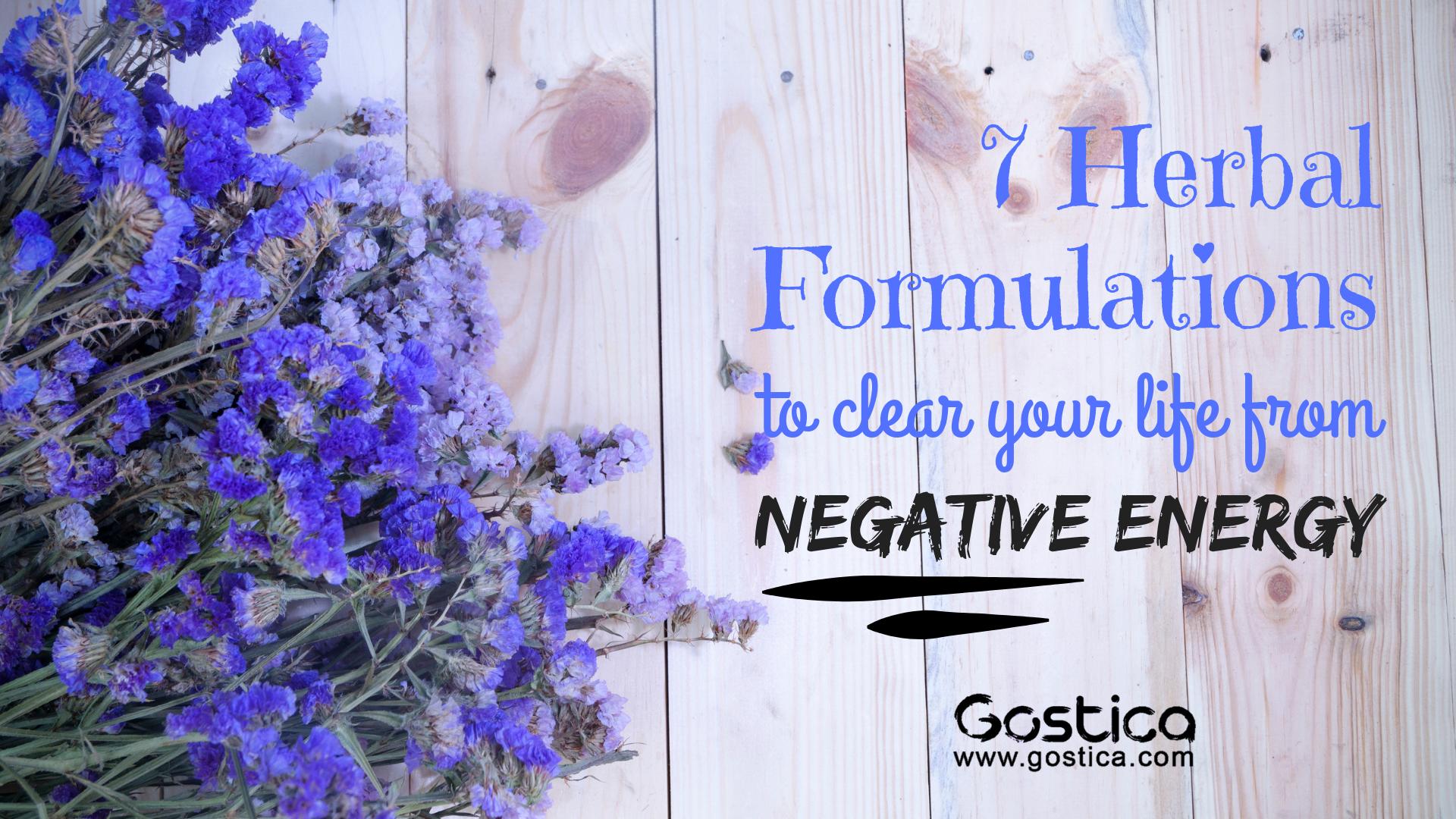 herbal, negative energy, herbs
