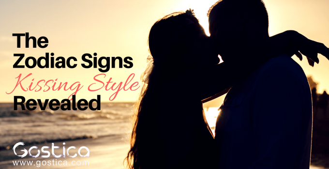 The Zodiac Signs Kissing Style Revealed 1