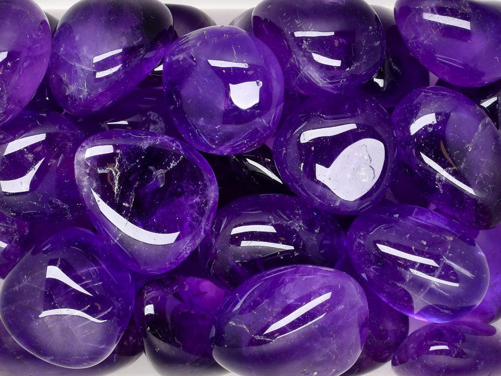 crystals, amethyst