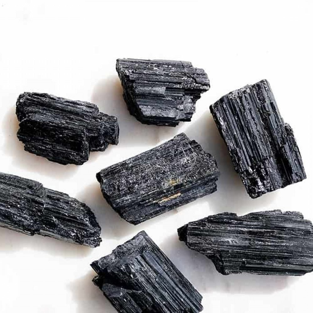 crystals, black tourmaline