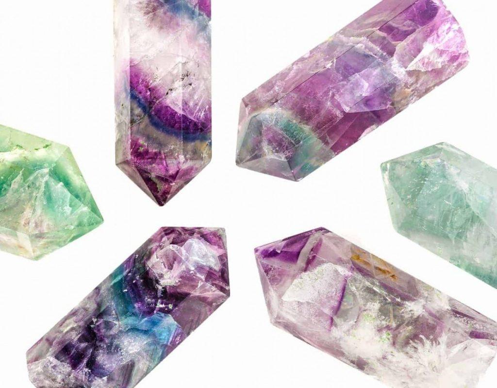crystals, fluorite