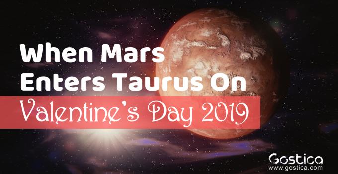 mars enters taurus