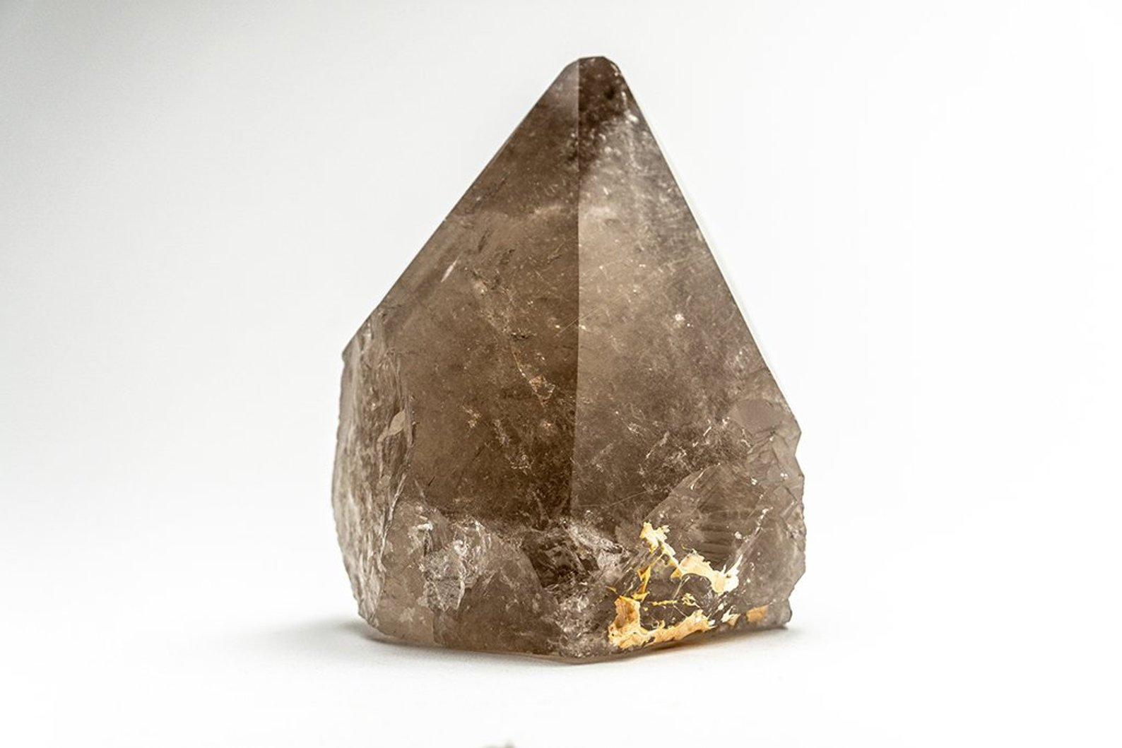 healing crystals, Polished Smoky Quartz Crystal Point