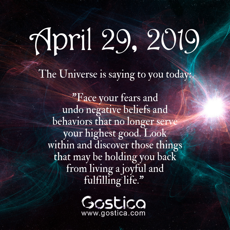Today U2019s Message From The Universe  Monday  April 29  2019