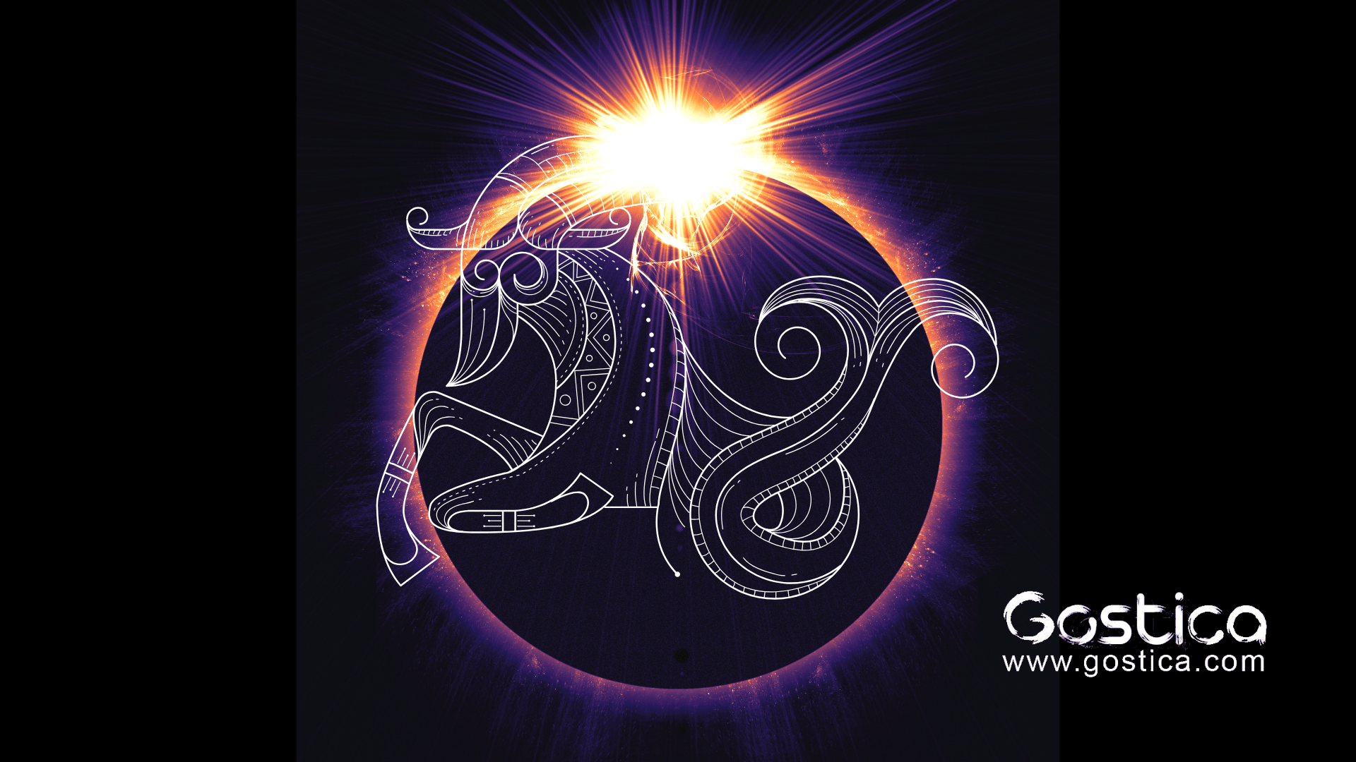 Capricorn lunar eclipse